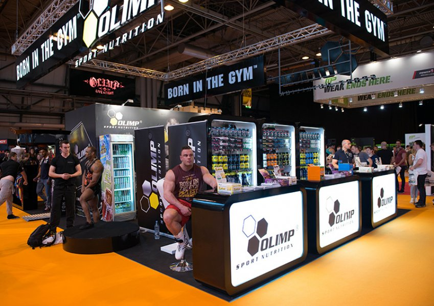 Olimp Sport Nutrition at Body Power Expo 2014