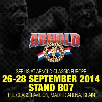 Visit us at Arnold Classic Europe in Madrid