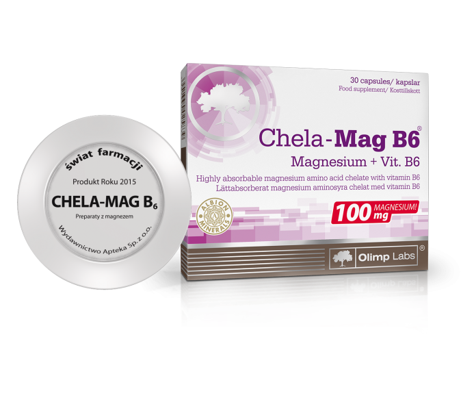Product of the year 2015 for The Chela-Mag B6®, Therm Line II® and Gold Omega 3®