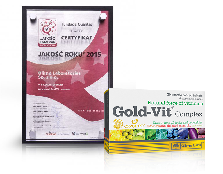Quality of the year for Gold-Vit complex