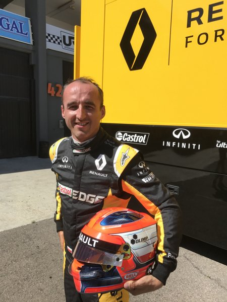 Olimp Sport Nutrition the official sponsor of Robert Kubica!