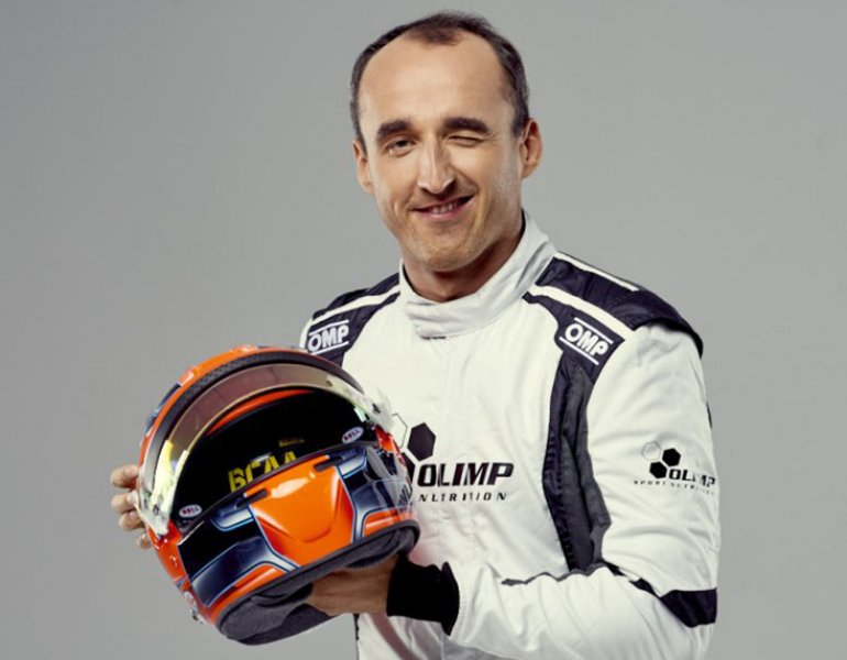 Robert Kubica and Olimp Sport Nutrition are going #TogetherToTheTop