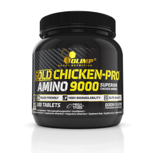 GOLD CHICKEN-PRO™ AMINO 9000 Mega Tabs<span>®</span>