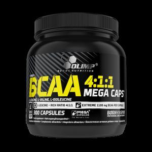 BCAA 4:1:1 Mega Caps