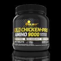 GOLD CHICKEN-PRO™ AMINO 9000 Mega Tabs®