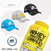 WHEY PROTEIN COMPLEX 100% + HAT