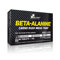 BETA-ALANINE CARNO RUSH MEGA TABS®